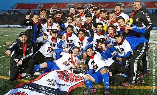 UBC Men's Soccer Champions - Dr. Soroush Khoshroo