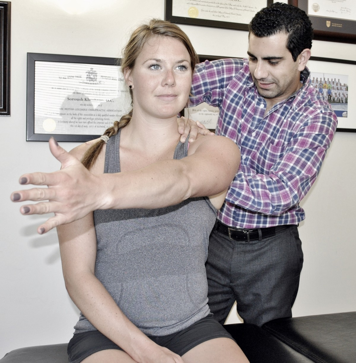 Rotator cuff injury of the shoulder –A.R.T. to supraspinatus muscle and tendon